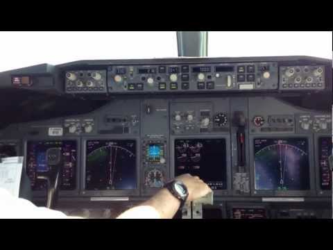 westjet - Flying jump seat on our 737-800 Care-antee aircraft. Take off from runway 05. Thanks to the crew for a great experience!