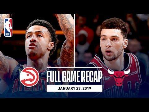 Video: Full Game Recap: Hawks vs Bulls   John Collins Records Career-High 35 Points