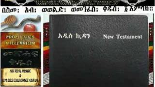 Amharic Bible - New Testament Bible In Amharic And English
