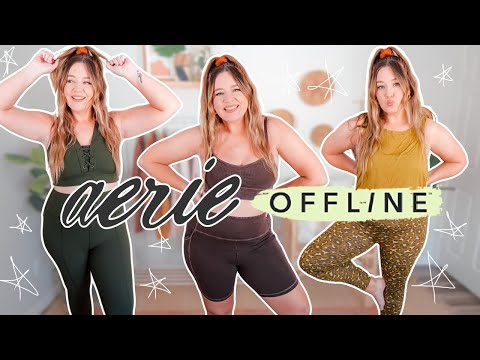 """i tried Aerie's """"OFFLINE"""" collection so you don't have to"""