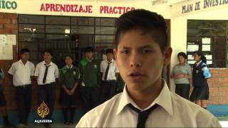 Peru's Children Brought Back To Education