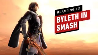 Reacting to Byleth in Super Smash Bros Ultimate by IGN