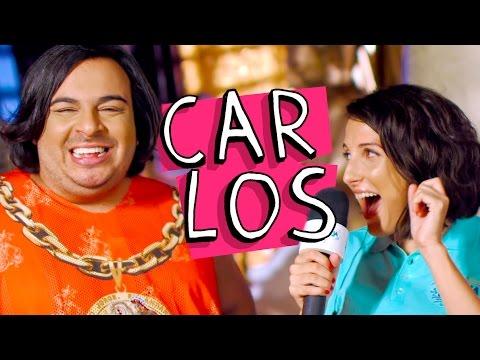 Homenagem ao Carlos no Carnaval