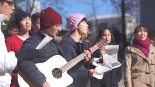 Raising Funds for Ebola Victims with Christmas Carols