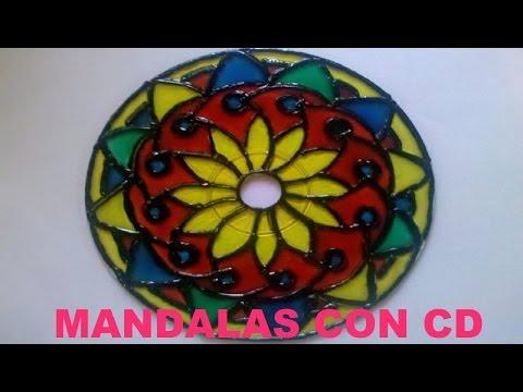 Tutorial - Cómo hacer Mandalas con CD