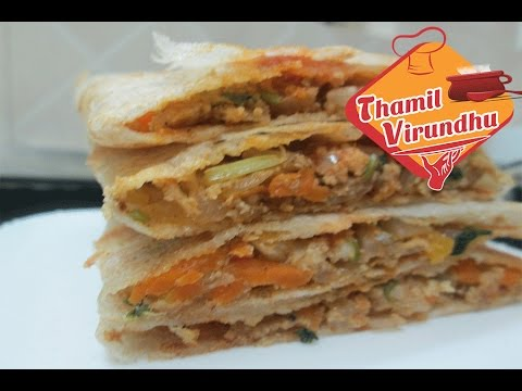paneer roast in tamil – variety dosa recipe – indian breakfast recipes – stuffed with paneer and veg