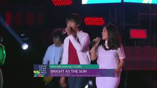 'Bright As The Sun' Official Theme Song   Live at Countdown Asian Games 2018