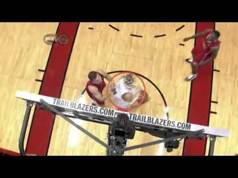 Rudy Fernandez's hook shot against Clippers