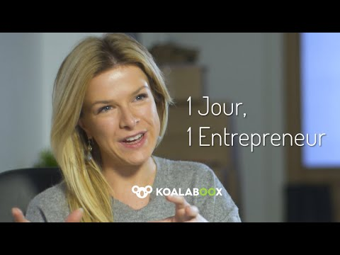 1 Jour, 1 Entrepreneur - Florence Blaimont (wonderful Women)