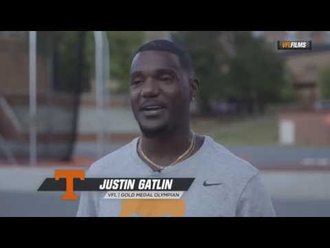 Justin Gatlin And Christian Coleman Q&A