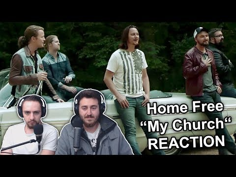 """Singers Reaction/Review to """"Home Free - My Church"""""""