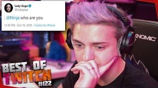 Best Of Twitch #122 Lady Gaga Tweets At Ninja I Riot Roasts Blizzard I Jakenbake BMW Sponsorship