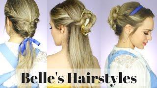 Tampil Anggun ala Princess Belle Dengan 4 Gaya Rambut Ini