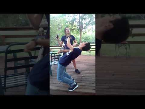 Dancing to Mucka Blucka by Tally Hall (Yes, I Uploaded A Vertical Video)