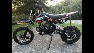 6. TaoTao DB14 110cc Semi Automatic Pit Bike by Powersports Distro LLC.