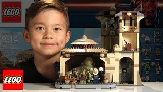 JABBA'S PALACE Lego Star Wars Set 9516 - Time-lapse Build, Unboxing & Review in 1080p HD - YouTube
