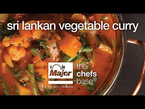 How to make Sri Lankan Vegetable  Curry by Major International