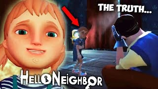 HE HURT HIS DAUGHTER?! - THE STORY OF HELLO NEIGHBOR YOU DON'T KNOW | Hello Neighbor Hide and Seek