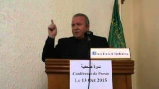 """Video Rebaine la déclaration du Ministre de la défense Tunisien :"""" L'Algérie exportateur  de terrorisme"""" MP3, 3GP, MP4, WEBM, AVI, FLV November 2017"""