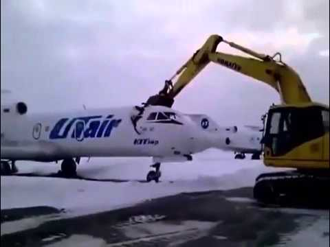 Russian Gets Fired....Destroys Plane