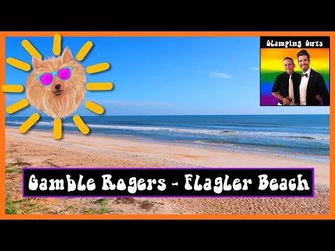 Gamble Rogers State Park: Flagler Beach - Gay RV Living - Glamping Guys: RV Hacks, Tips, & Tricks