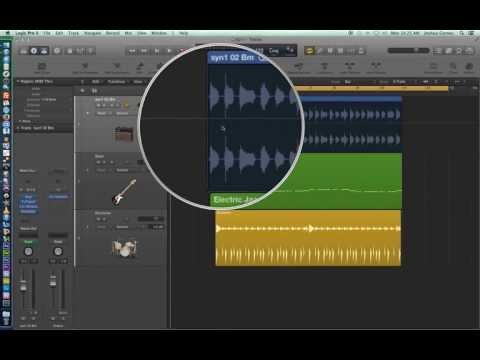 Logic Pro X – Video Tutorial 11 – Audio Edit Tools (part 2)