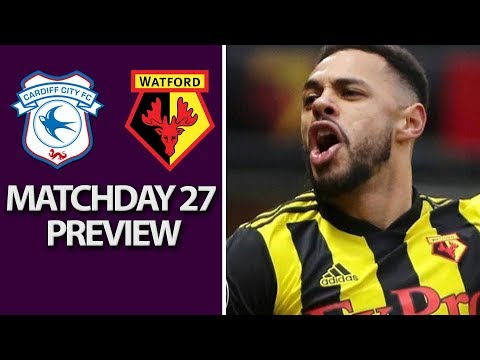 Video: Cardiff City v. Watford | PREMIER LEAGUE MATCH PREVIEW | 02/22/2019 | NBC Sports