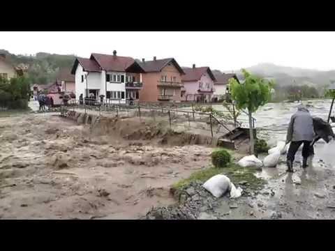 Ljubovija 2014-poplava