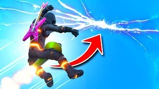 Rocket Riding To The *CRACK* In The Sky Fortnite Battle Royale