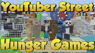 Minecraft Xbox - YouTuber Street Hunger Games - Survival Madness Crew