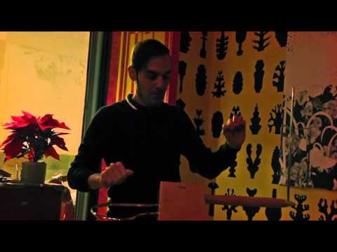 Exotic improvisation on theremin (Javier Díez Ena)
