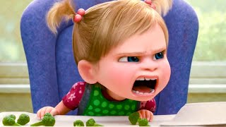 Baby Riley Gets Angry Scene - INSIDE OUT (2015) Movie Clip