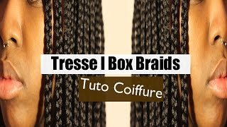 Tresses France  City pictures : TUTO COIFFURE l Tresses - Box braids