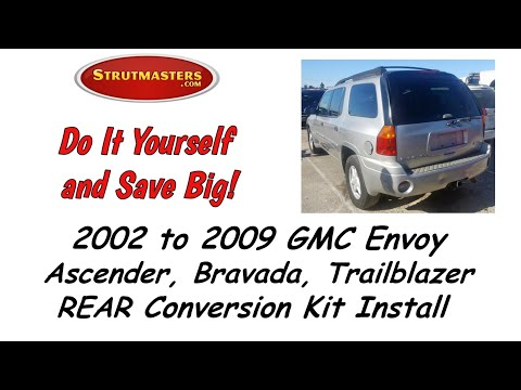 2002-2006 GMC Envoy Rear Air Suspension Conversion Installation