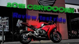 2. REVIEW: 2015 Honda CBR1000RR!! (fireblade)