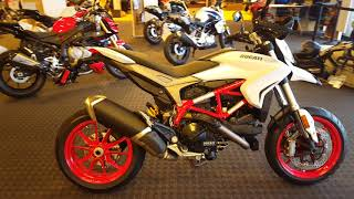 8. 2018 Ducati Hypermotard 939 in Star White Silk Uncrating & Walk Around @ Frontline Eurosports