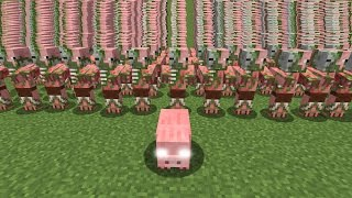 Minecraft: PIGS TAKE OVER THE WORLD!!! - Custom Map