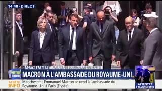 Video Macron, Philippe, Le Drian et De Sarnez se rendent à pied à l'ambassade du Royaume-Uni MP3, 3GP, MP4, WEBM, AVI, FLV Mei 2017