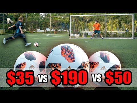 $35 Vs $190 World Cup Ball (Telstar 2018)