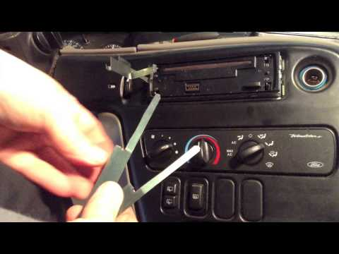 How to Remove and Replace a Car Stereo Radio (Panasonic)