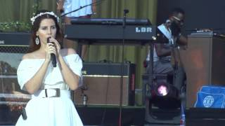 Lana Del Rey - Born To Die @ Vieilles charrues 2016