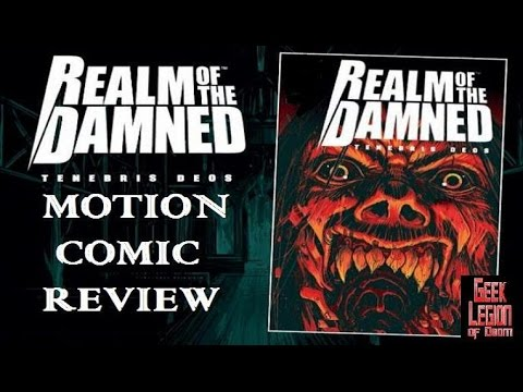 REALM OF THE DAMNED : Tenebris Deos ( 2017 Dani Filth ) Motion Comic Review