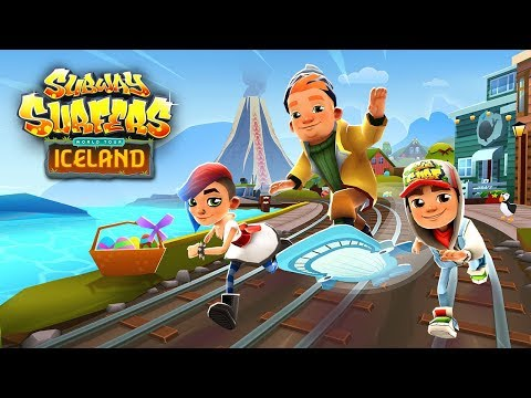 🇮🇸 Subway Surfers World Tour 2018 - Iceland - Easter (Official Trailer) (видео)