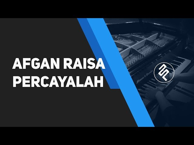 Percayalah Afgan Feat Raisa Piano Cover Hd Chord Lirik Synthesia By ...