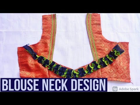 Designer Model blouse In Telugu-Blouse Neck Design 2020-Latst Blouse Neck Design