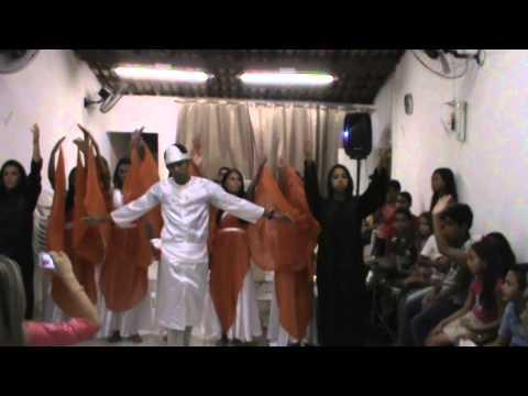 Coreografia Liberta-me - Grupo Shekináh - Assembleia de Deus em Curral Velho PB