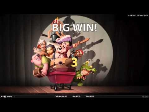 Hook's Heroes Netent Slot BIG WIN!!!