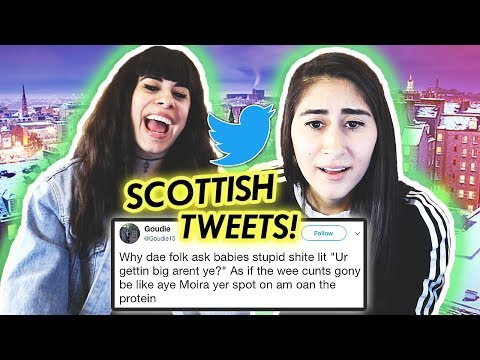 READING SCOTTISH TWEETS