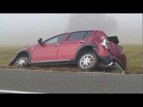 Sachsenberg: Auto gegen Wasserdurchlass