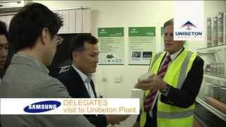 Samsung Delegates Visit, Unibeton Ready Mix | Leading Through Innovation